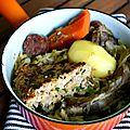 [Ariège] Azinat et rouzolle : plat traditionnel ariégeois