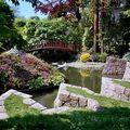 Le jardin Albert Kahn au printemps