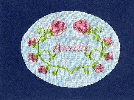 Petit coeur fleurs message (free sur mon site perso)