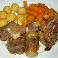 Queue de boeuf carottes