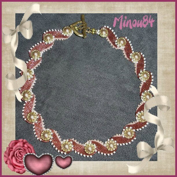 collier waves of pearls