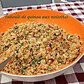 Taboulé de quinoa aux noisettes