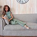 La maison de Barbie, miniatures au 1:6