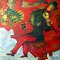 Camille d'après Chagall adulte