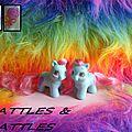 (088) G1 Jumeaux Tout-Petits / Teeny Pony Twins