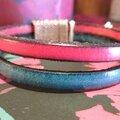 Les Nouveaux Bracelets en cuir made by <b>L</b>'<b>échappée</b> <b>Belle</b> <b>Déco</b> !