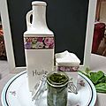 pesto basilic, ail, huile d'olive - www.passionpotager.canalblog.com