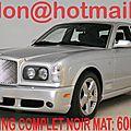 Bentley <b>Arnage</b>, Bentley <b>Arnage</b>, covering Bentley <b>Arnage</b> noir mat
