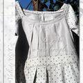 La robe à encolure plissée des ipfm #1, un long long sauvetage...