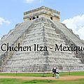 A la découverte de l'ancienne cité maya chichen itza, mexique