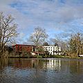 Dernière journée de la <b>formation</b> GSA (Grimpeur Sauveteur dans l'Arbre) au château de La Forge à Rambervillers, le 12 mars 2020.