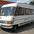 Peugeot j5 hymermobil camping car