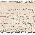 #Genealogie30 : une <b>lettre</b>...