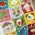 Pixel art crochet ou c2c