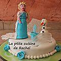 Gâteau reine des neiges (2)