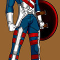 Captain america design