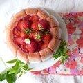 Charlotte fraise/rhubarbe, l'histoire d'un traumatisme