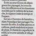 2013 - chemins de lumière