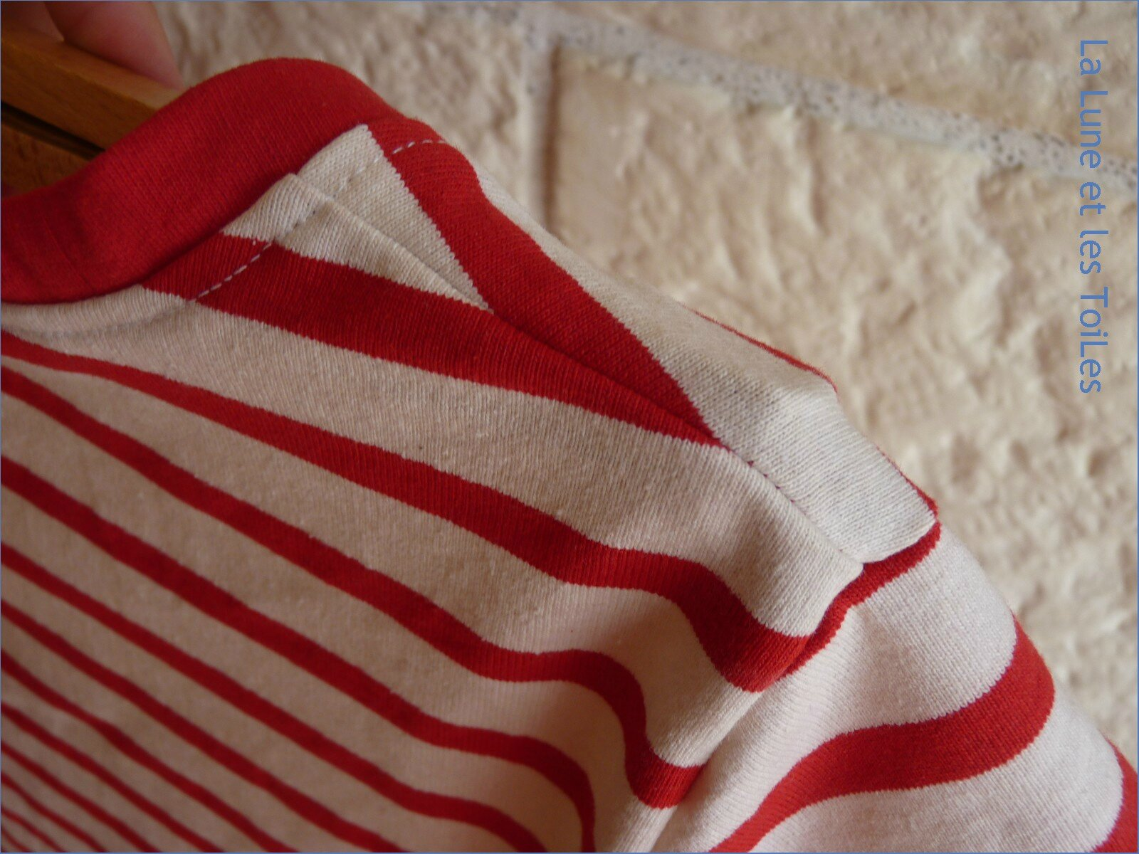 Robe marine rouge 7