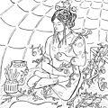 Le printemps en méditation