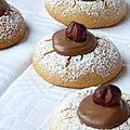 Biscuits fondants à la pralinoise, pour faire briller les yeux de ma mère