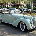 Talbot lago T26 record cabriolet (1948-1949)(Retrorencard mai 2013) 01