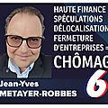 MR6 > le Blog de Jean-Yves METAYER-ROBBES pour la 6ème République