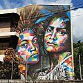 Polynésie française - papeete fresque 5