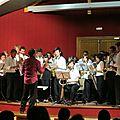 Concert de saxophone présenté par les étudiants de l'université européenne