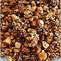 Granola home made au chocolat, noix de macadamia et coco