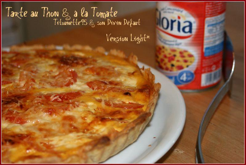 Tarte au Thon & à la Tomate