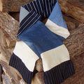 une écharpe chic et mec !