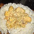 Wok de saumon au curry