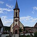♥ L'Alsace ; la Paroisse Sainte <b>Catherine</b> à Thannenkirch (5/5) ♥