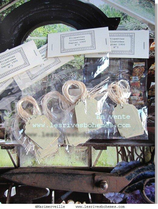 Marimerveille collection étiquettes jardin intérieur N° 3
