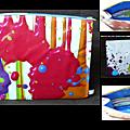 Trousse de toilette peinture