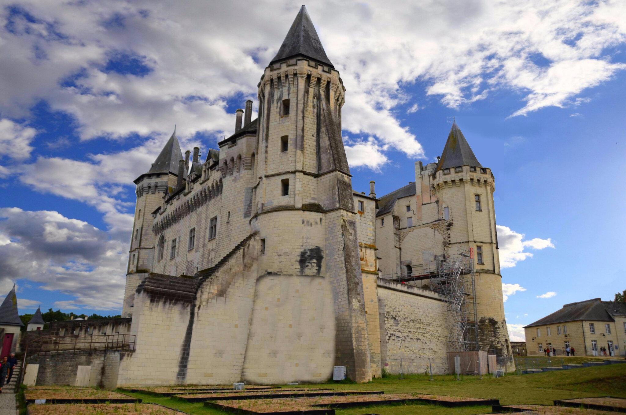 Saumur : le château du roi René