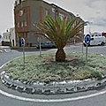Rond-point à Telde (Espagne)