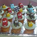 Mini gâteaux Cars