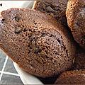 Madeleines double chocolat de pierre hermé