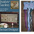 Quaker Garden - <b>Blackbird</b> <b>Designs</b>