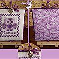 pinkeep chouette violette