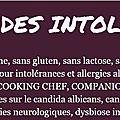 - un blog à connaître : conseils et recettes pour intolérances et allergies alimentaires