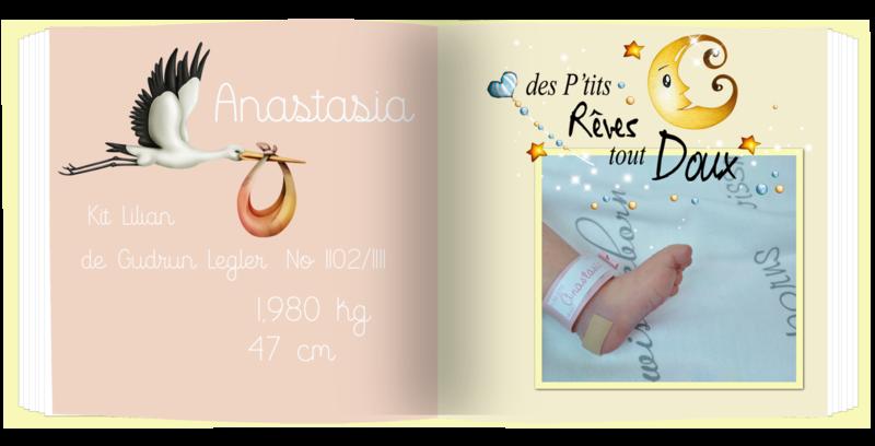 livre Anastasia