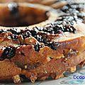 Gâteau de silvia, version prunes majorquines, mures et amandes