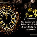 Happy new year 2016 et bilan musical 2015