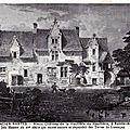 Ancien Nantes - Vieux château de la Hautière