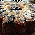 {recette} gâteau aux myrtilles