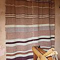 Encore un <b>rideau</b> avec mon métier à tisser