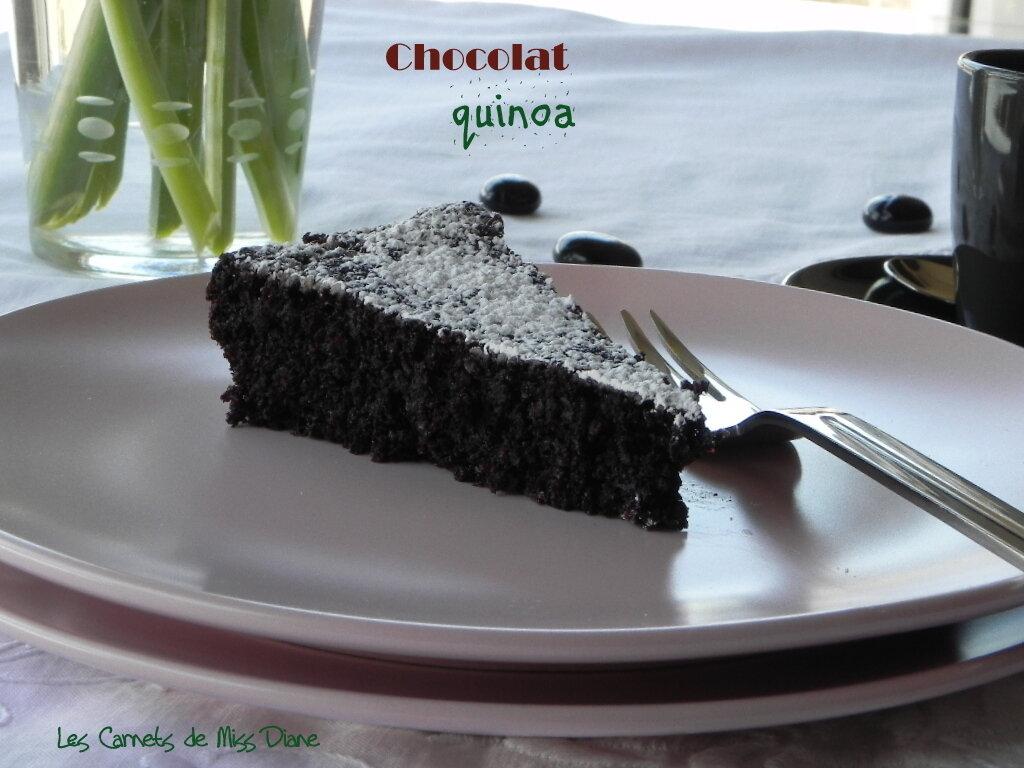 Gâteau moelleux au chocolat, sans farine et sans gluten
